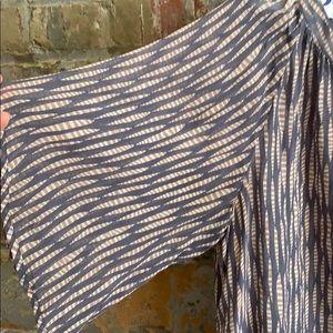 Anthropologie Tops - Sheer flowy blouse